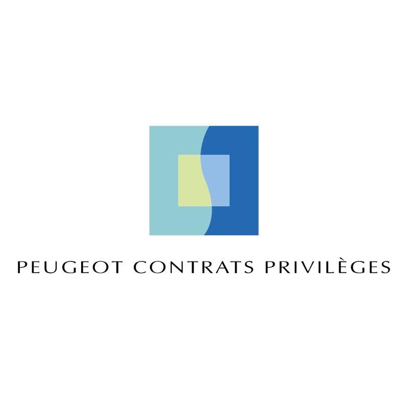 Peugeot Contrats Privileges vector