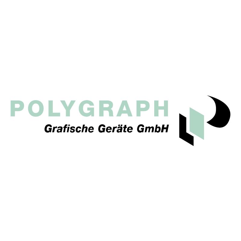 Polygraph Grafische Geraete vector logo