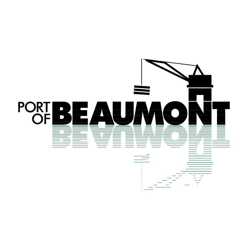 Port of Beaumont vector