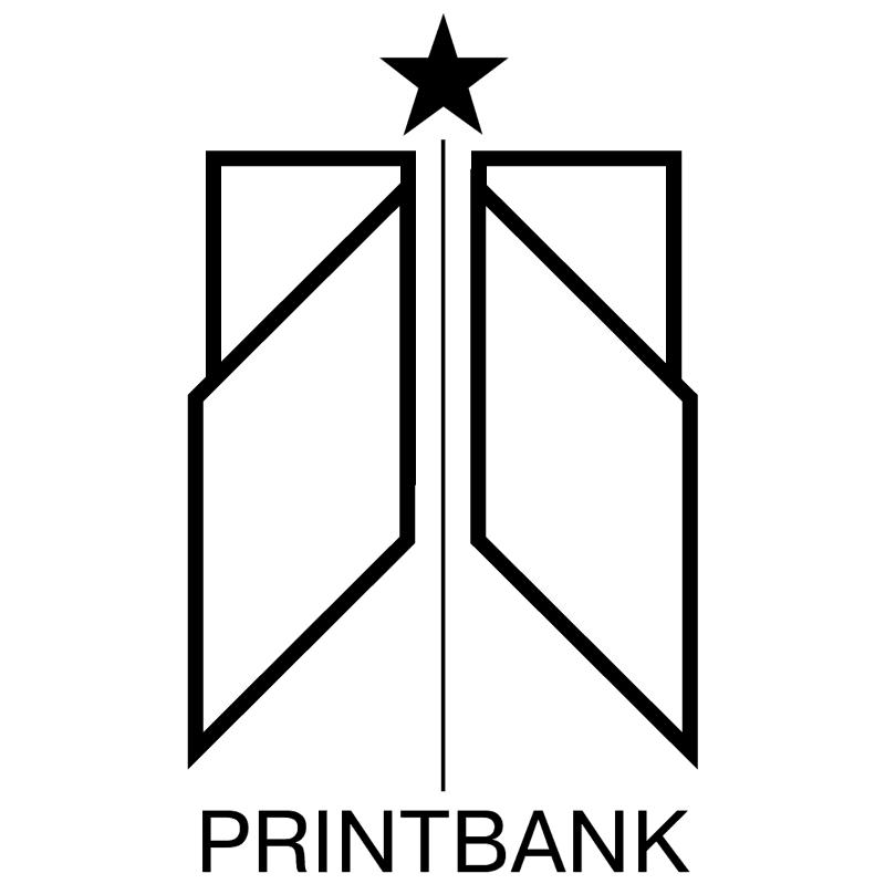 PrintBank vector