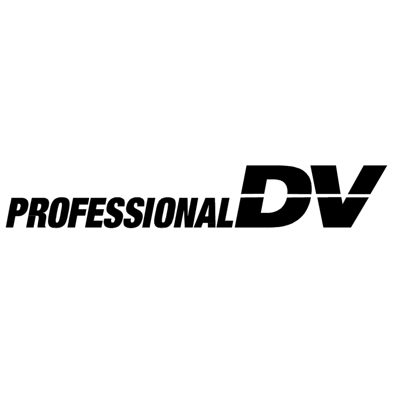 Professional DV vector