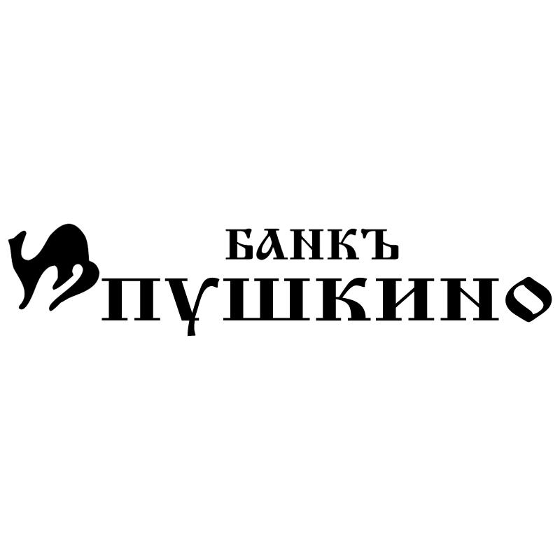 Pushkino Bank vector logo