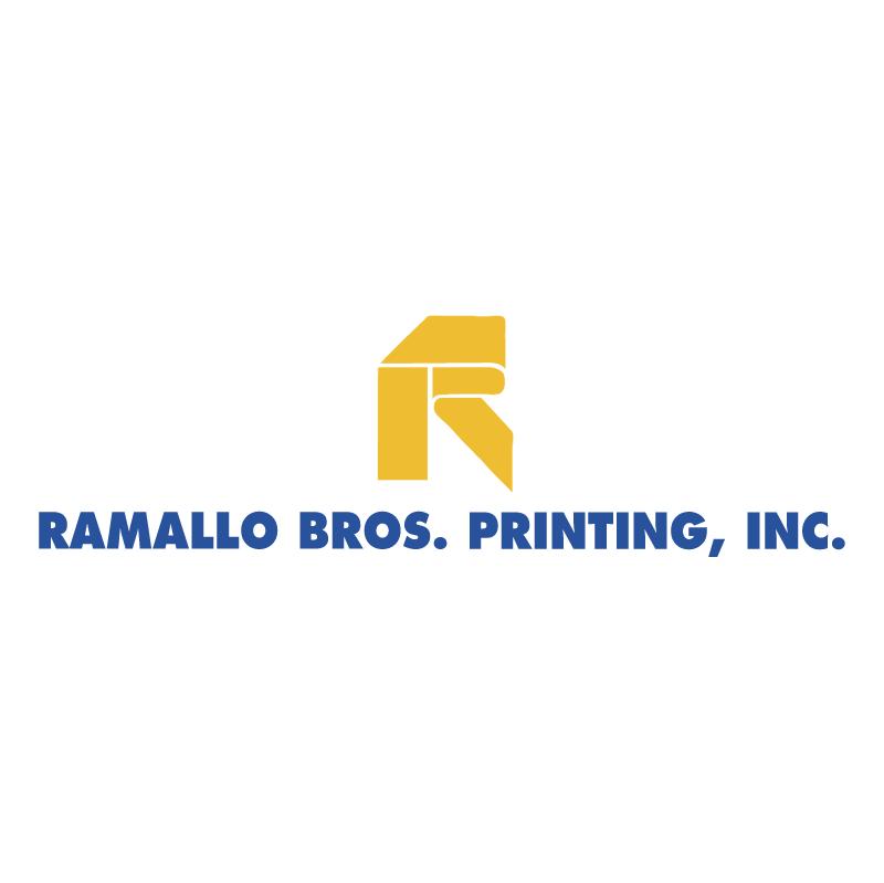 Ramallo Bros Printing vector