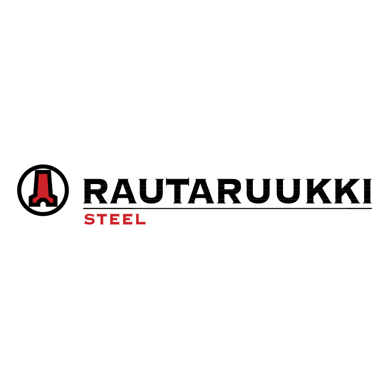 Rautaruukki Steel vector
