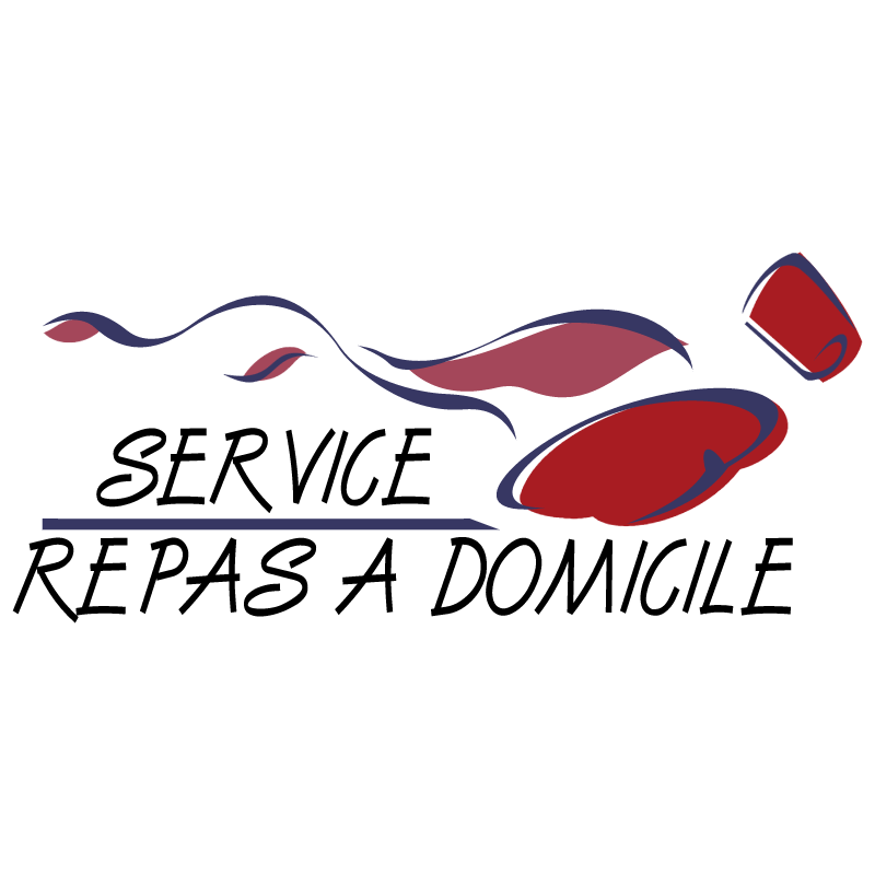 Service Repas A Domicile vector