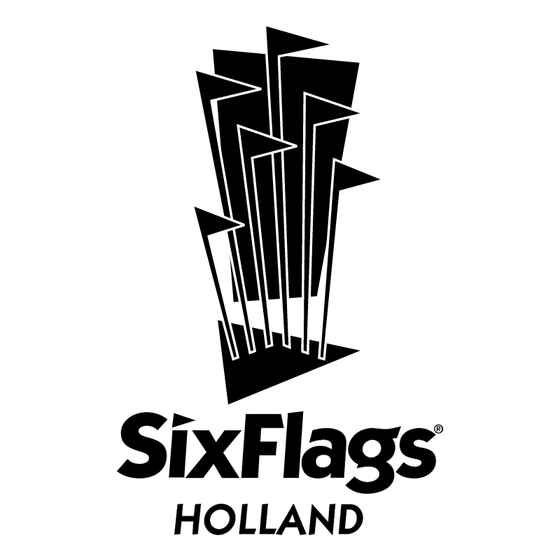 Sixflags Holland vector