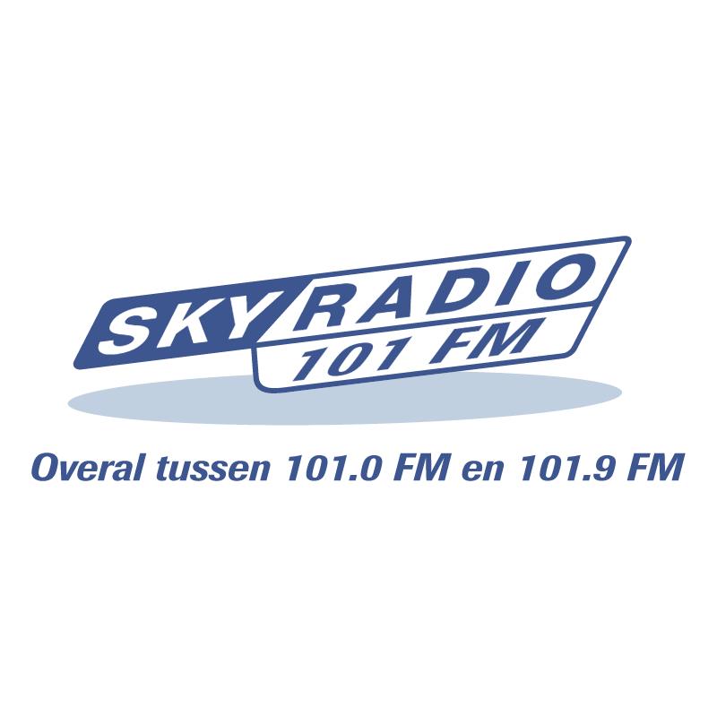 Sky Radio 101 FM vector
