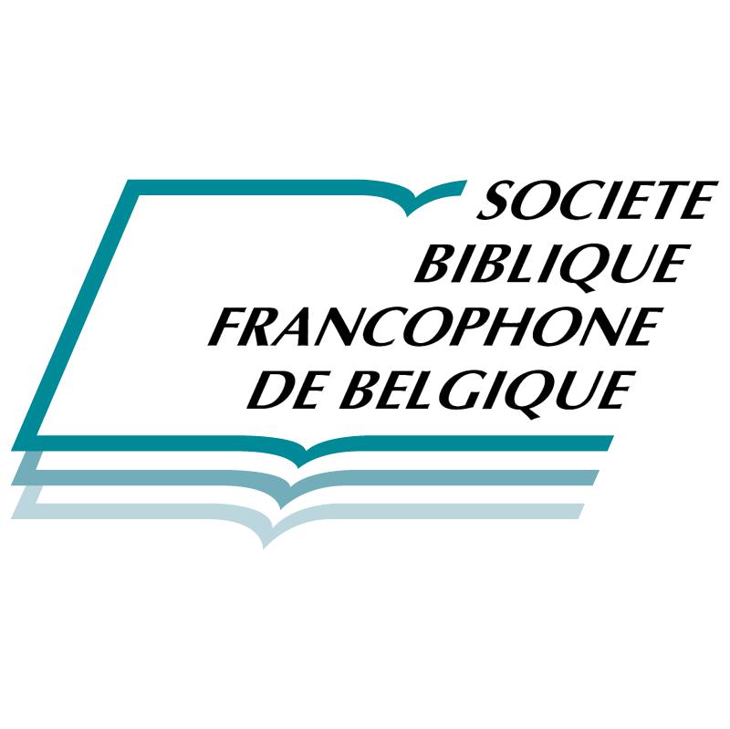Societe Biblique Francophone De Belgique vector