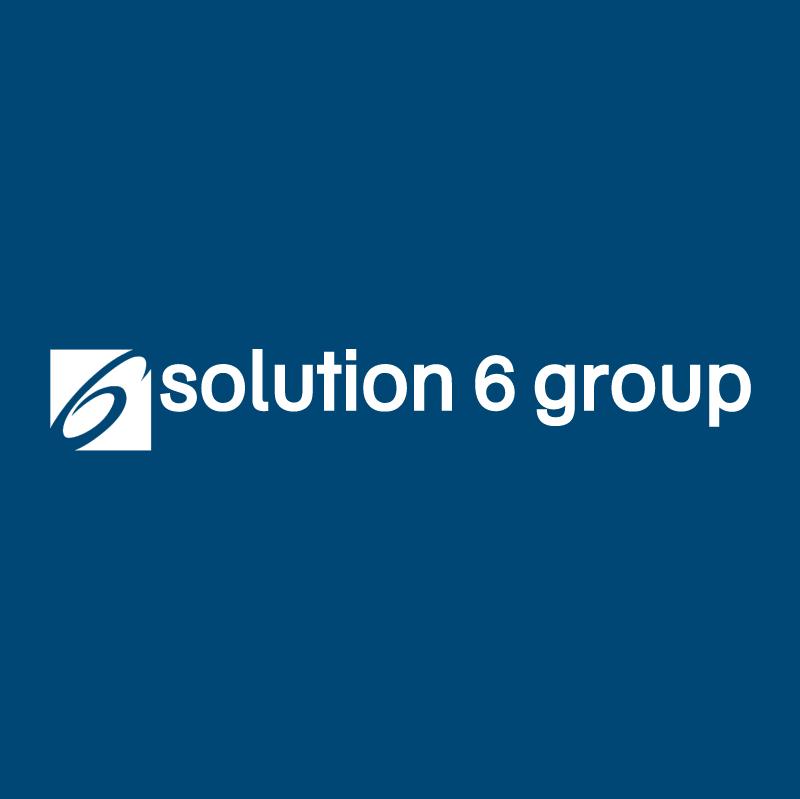 Solution 6 Group vector logo