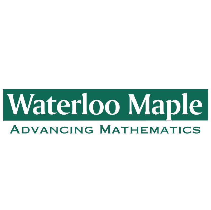 Waterloo Maple vector