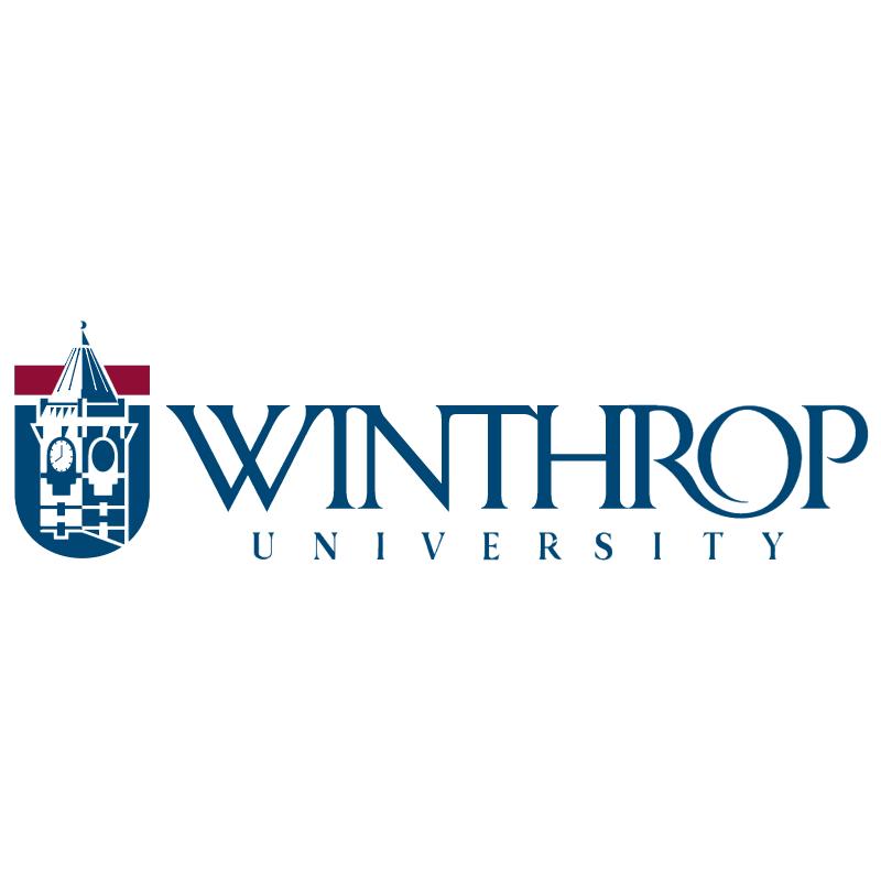 Winthrop University vector logo
