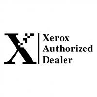 Xerox Authorized Dealer vector