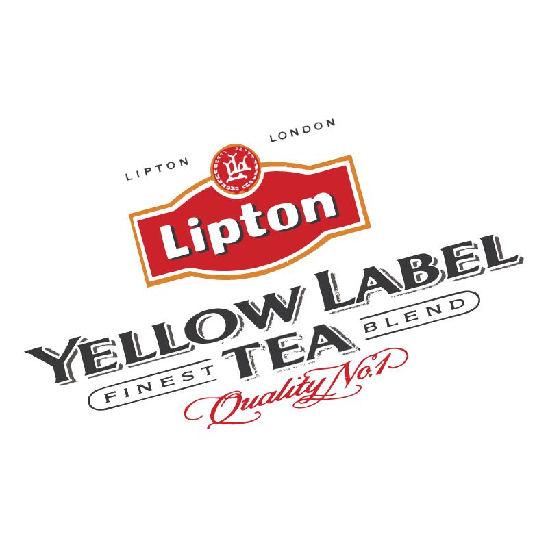 Yellow Label Tea vector