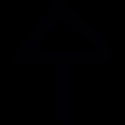 Up Arrow Draw vector logo