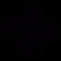 Python Language logotype vector