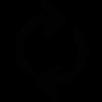 Progress arrows vector