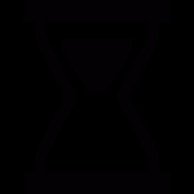 Sand Clock vector logo