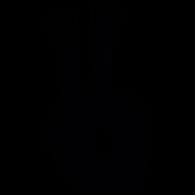 Push to slide down vector logo