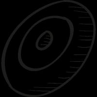 Desarrollo web drawn logo vector
