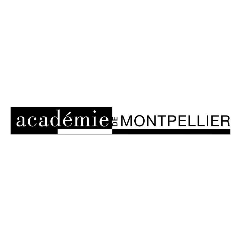 Academie de Montpellier 51899 vector