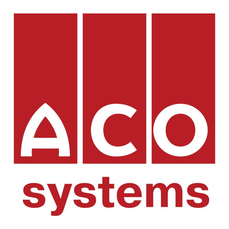 ACO Drain Systems 54737 vector