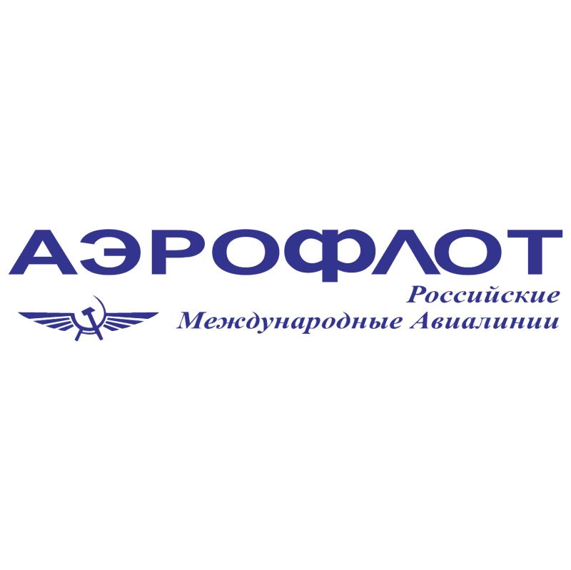 Aeroflot 539 vector logo