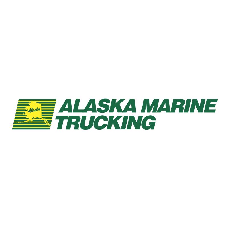 Alaska Marine Trucking vector