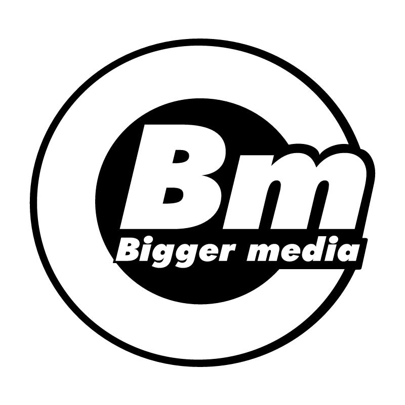 Bigger media 52464 vector