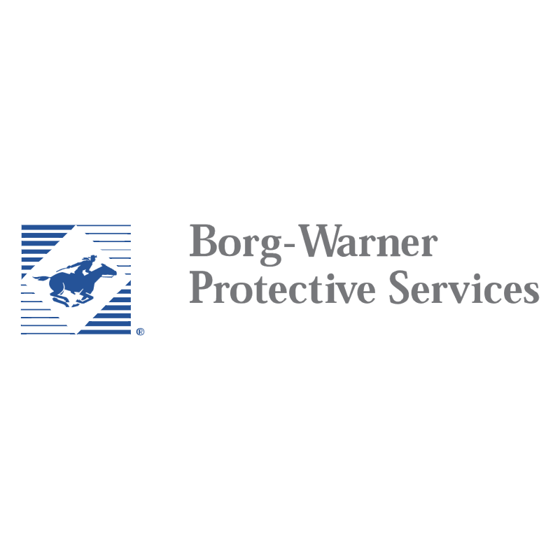Borg Warner Protective Services vector