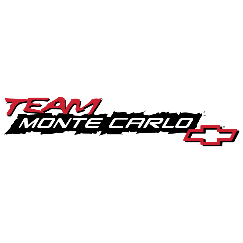 Chevrolet Team Monte Carlo 8936 vector logo