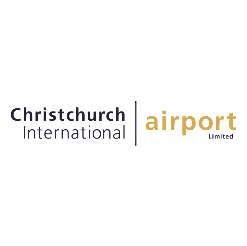 Christchurch International Airport vector