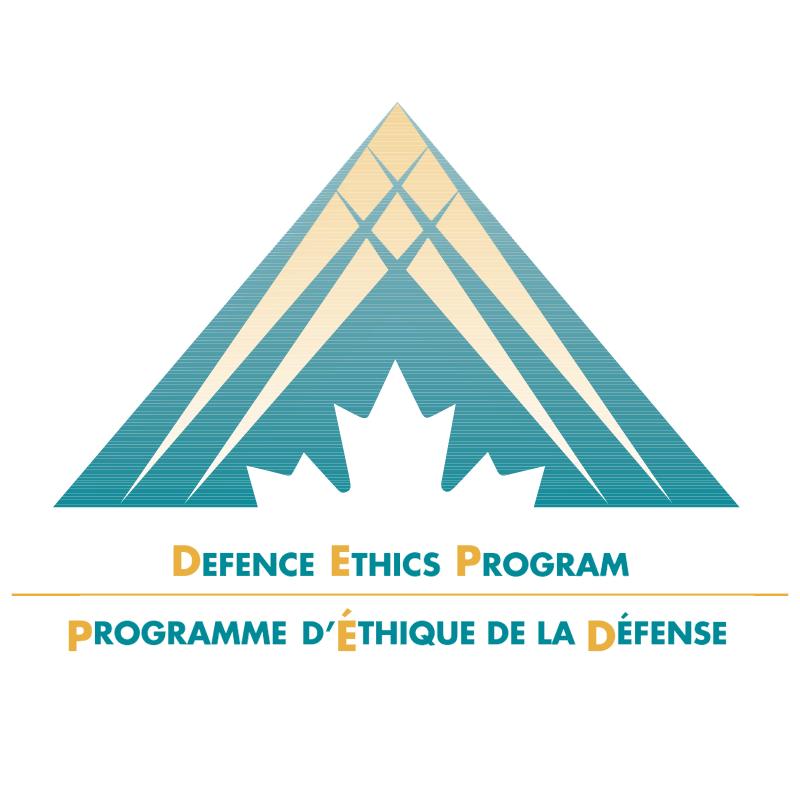 Defence Ethics Program vector