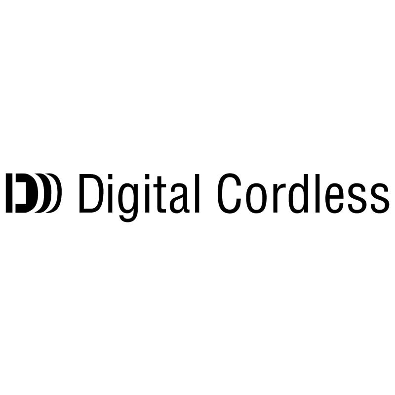 Digital Cordless vector