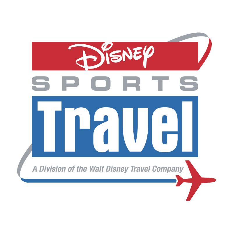 Disney Sports Travel vector logo