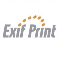 Exif Print vector