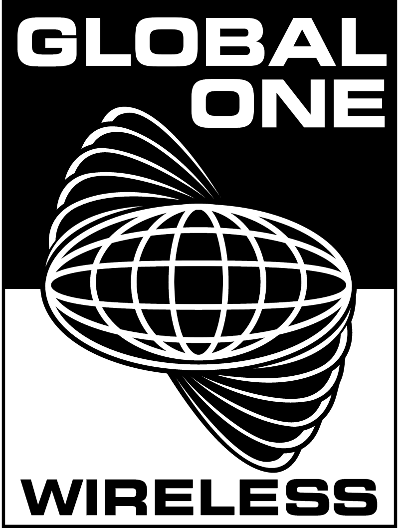 Global One vector logo