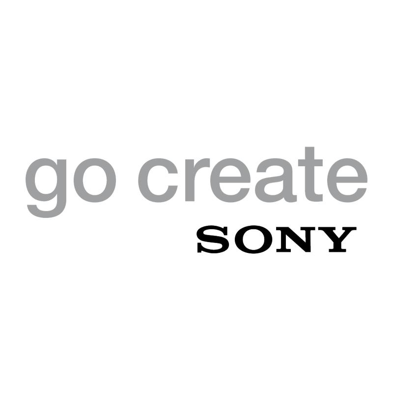 Go Create Sony vector