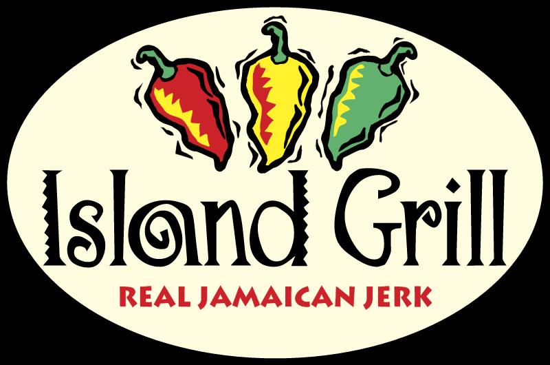 Island Grill vector