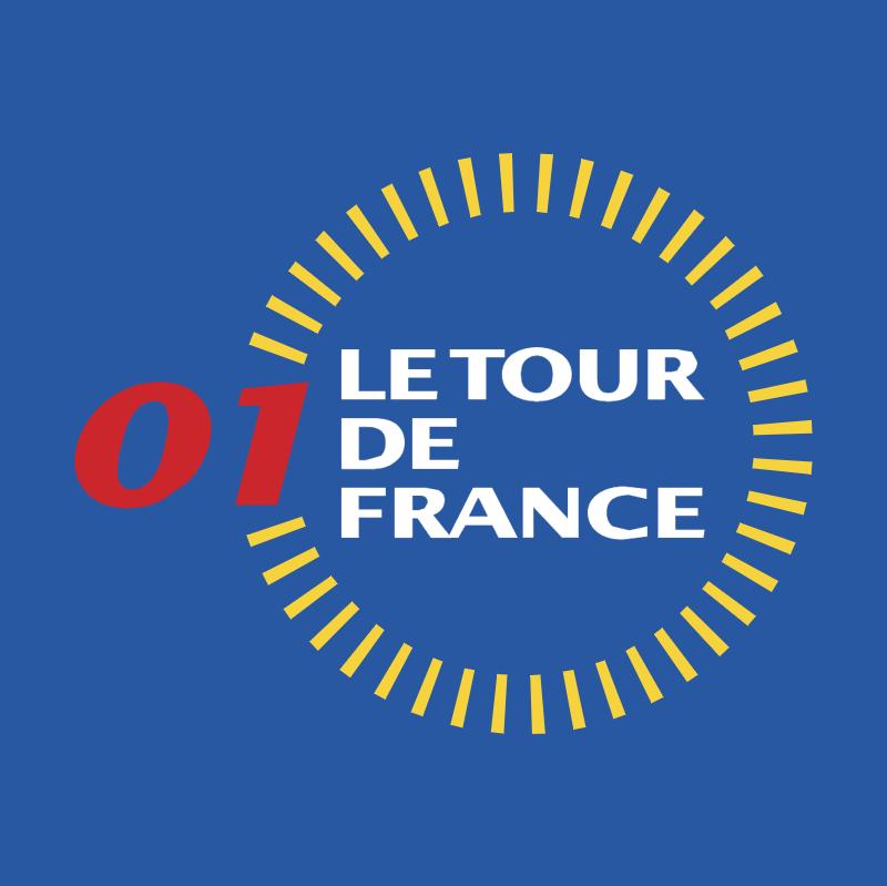 Le Tour de France 2001 vector