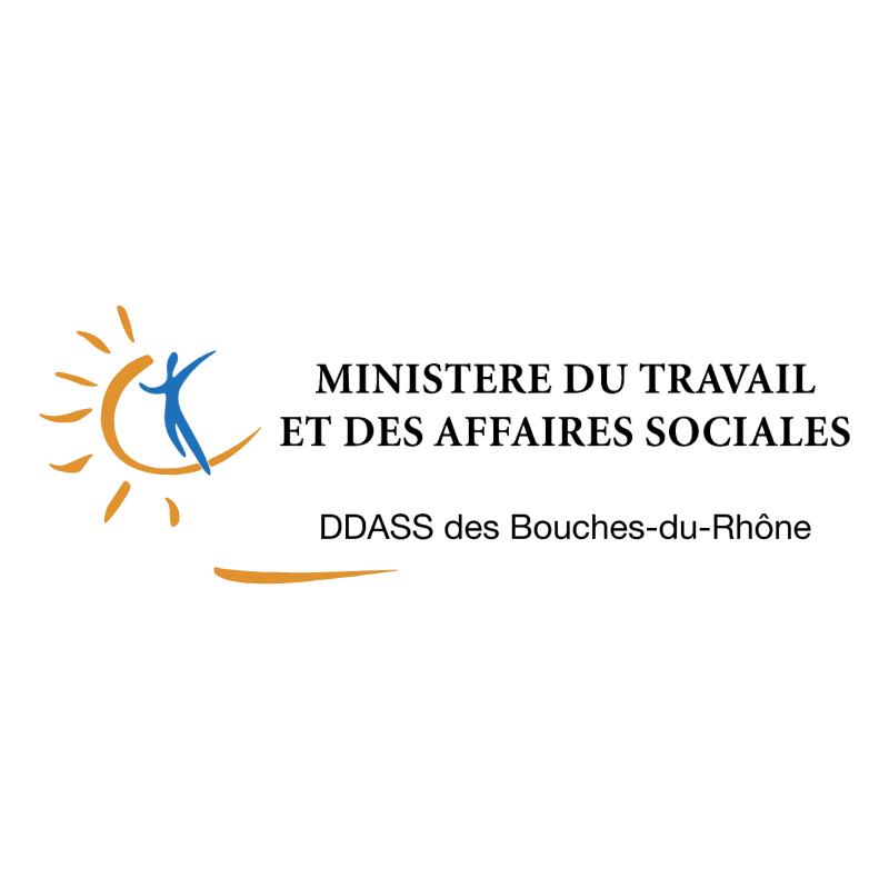 Ministere du Travail et des Affaires Sociales vector