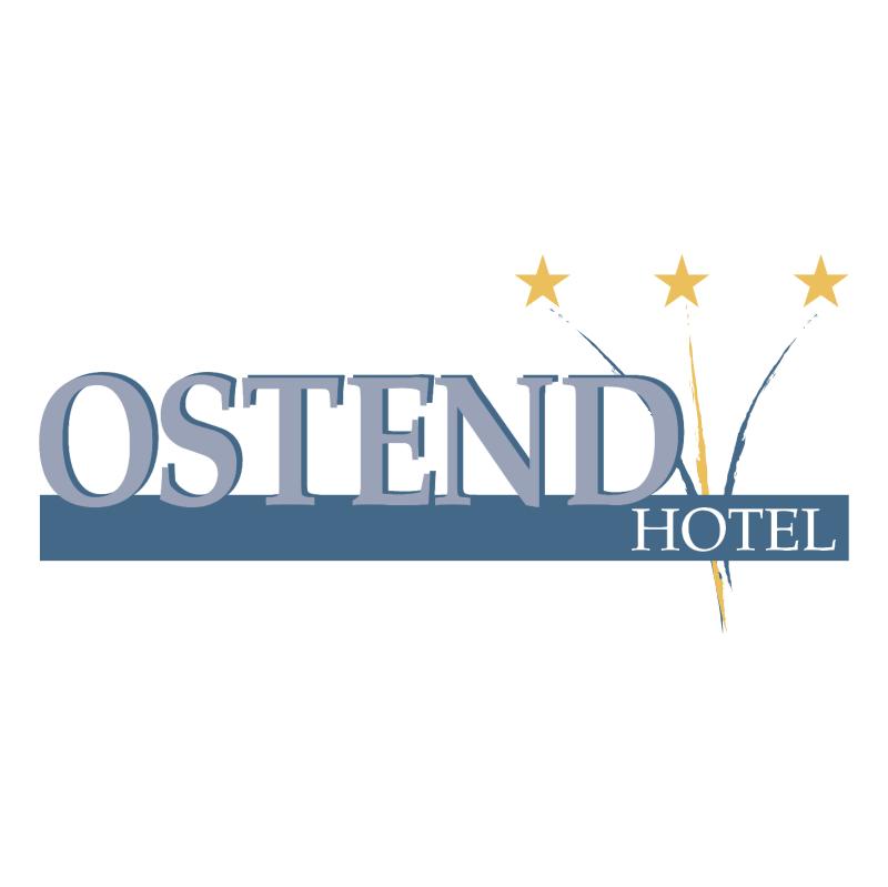 Ostend Hotel vector logo