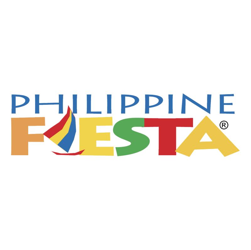 Philippine Fiesta vector logo
