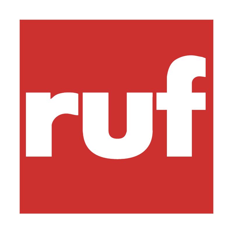 Ruf vector logo