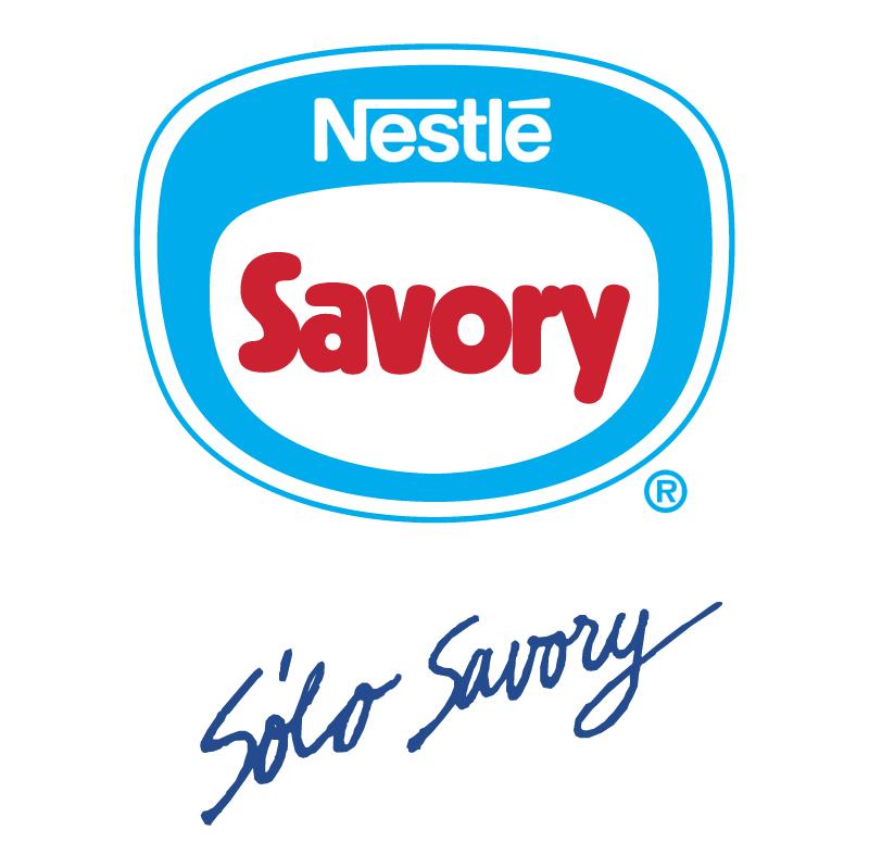 Savory vector logo