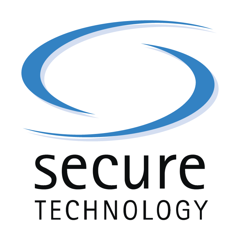 Secure Technology vector logo