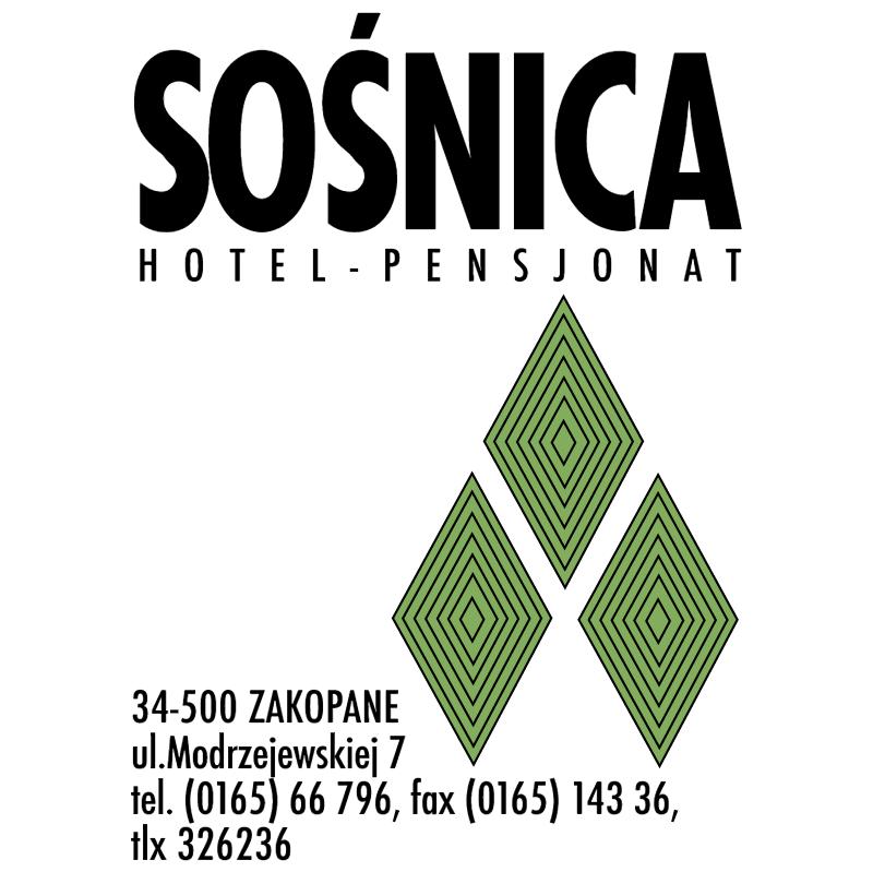 Sosnica Hotel vector