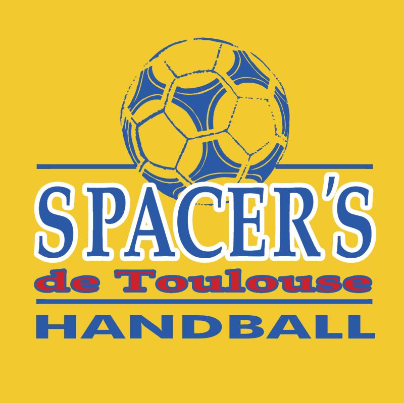 Spacer's de Toulouse Handball vector