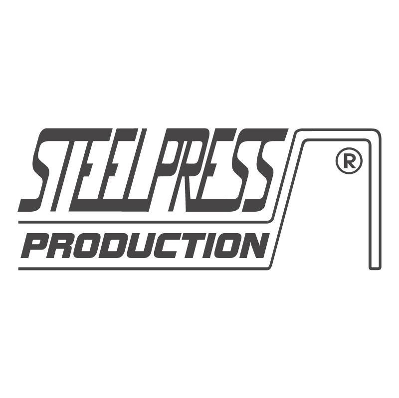 Steel Press Production vector
