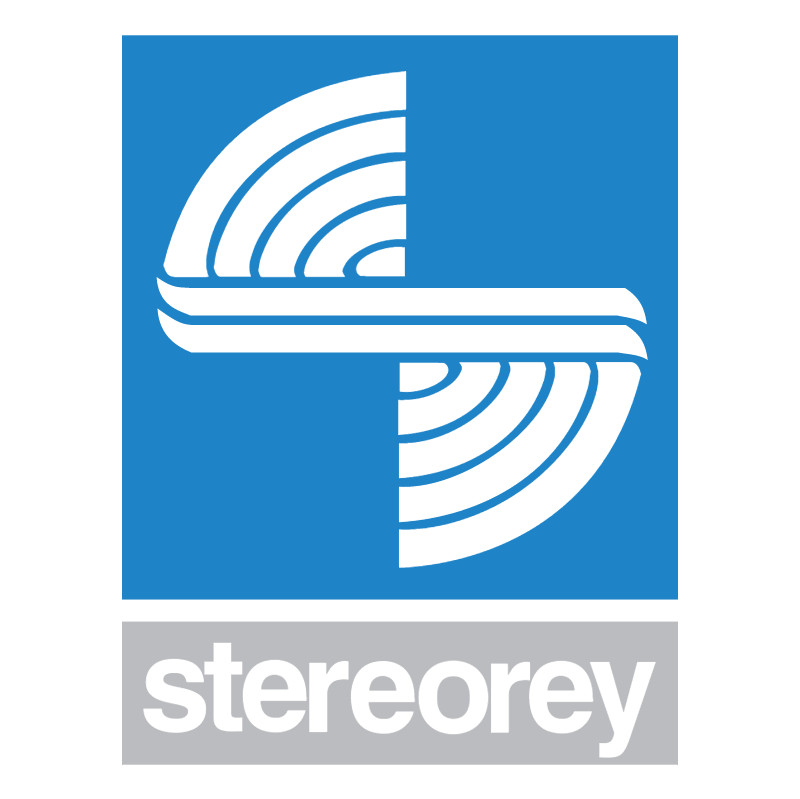 Stereorey vector logo