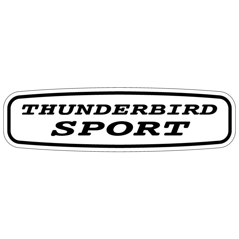 Thunderbird Sport vector